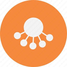 network, share, sharing icon