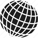 communication, globe, hosting, internet, network, planet, world icon