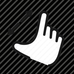 enlarge, expand, fullscreen, magnifying, resize, zoom icon