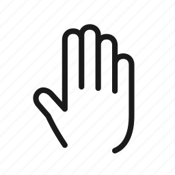 essential, finger, gesture, hand, interaction, touch icon