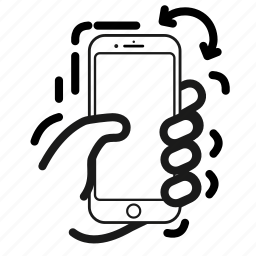 handshake, phone, shake, smartphone, vibe, wiggle icon