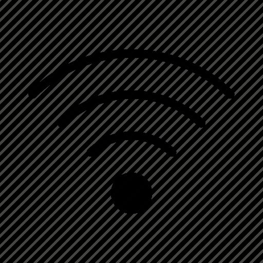 application, interface, software, web, wifi icon