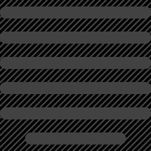 align, mid icon