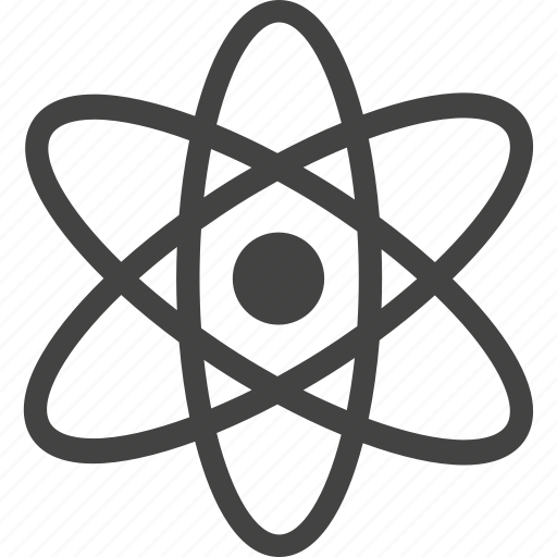 atom, communication, connection, network, online, science icon