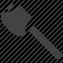 axe, hammer, wood icon
