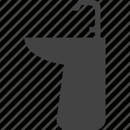 bathroom, sink icon