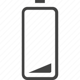 battery, cellphone, charge, electric, fill, low icon