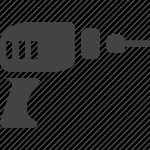 cordless drill, drill, drill press, electric, harmer drill, little machine, machine, power drill, shop icon