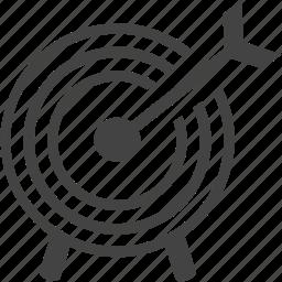 bullseye, circle, focal point, game, goal, sport, target, winner icon