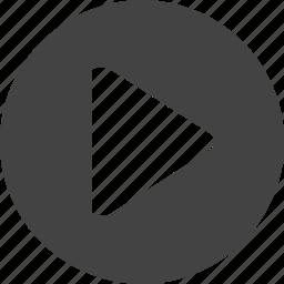 audio, button, film, movie, music, play, record, recorder icon