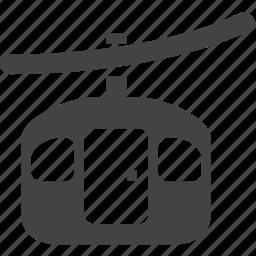 cable, cable carbin, carbin icon