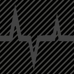 cardiogram, clinic, doctor, health care, hospital, medicine, nurse, suitcase icon