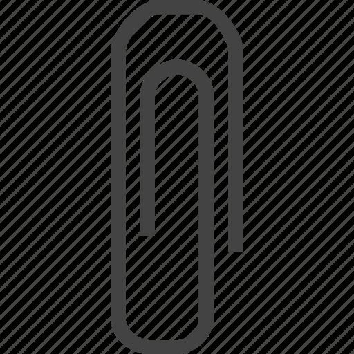 attachment, clip, paper clip icon