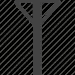 colum, wave icon