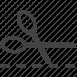 cut, line icon