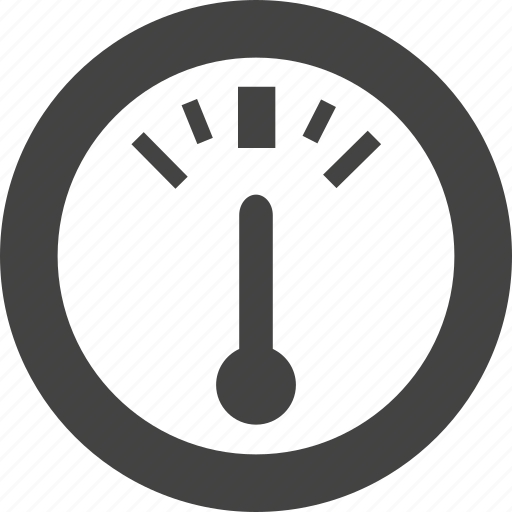 dasboard, gauge icon