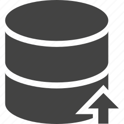 database, up icon