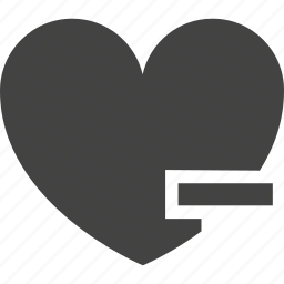 favorite, friend, heart, human, like, love, people, remove icon