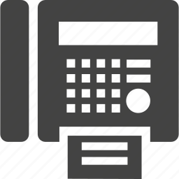 connection, contact, fax icon