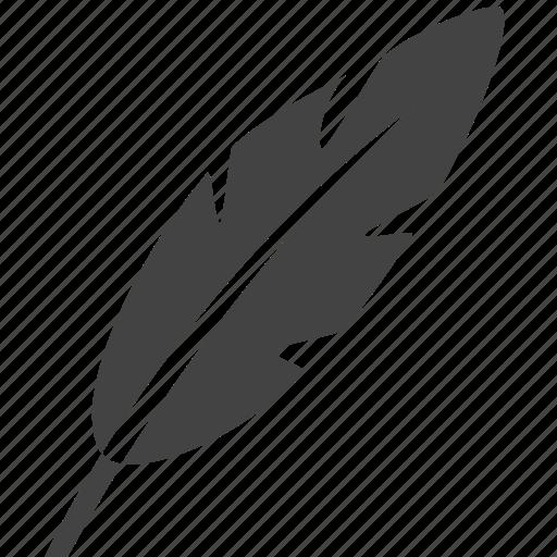 bird, calligraphy, feather, feathers, old fashion pen, pen icon