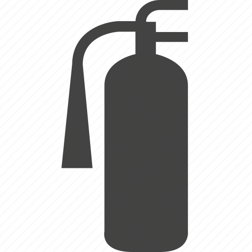 bottle, can, extinguisher, fire, gas icon