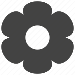 daisy, flower icon