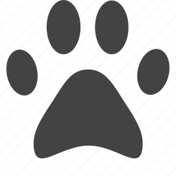 animal, dog, footmark, kitty, pet, pets, puppy icon