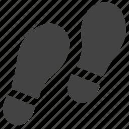 foot, footprint, footstep, gesture, hand icon