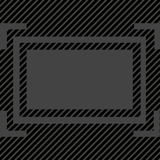 display, full, monitor, scale, screen icon