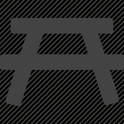 chair, gate, torii icon