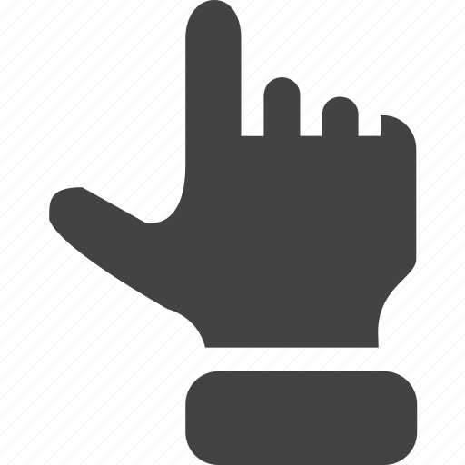 hand, push, touch, up icon