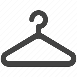 cloth, clothes, clothing, fashion, hanger, shop icon