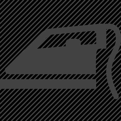 clothes, clothing, iron, ironing, laundry icon