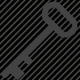 gate, key, security icon