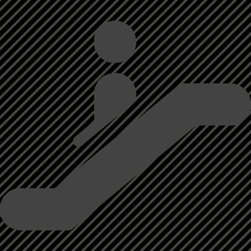 down, lift, market, shopping icon
