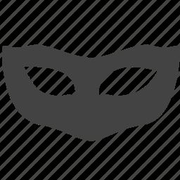 cinema, entertainment, mask icon