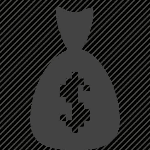 bag, bank, banking, coin, comercial, money icon