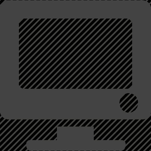 computer, monitor icon