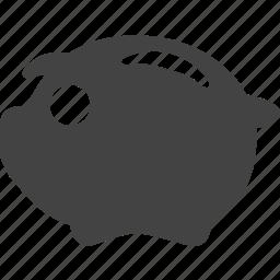 ctor, money, money saver, pig, save icon