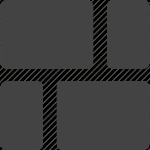 rectangle, rectangular icon