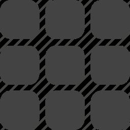 grid, play, rubic, training icon