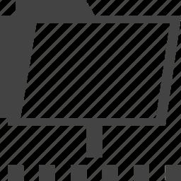folder, share icon