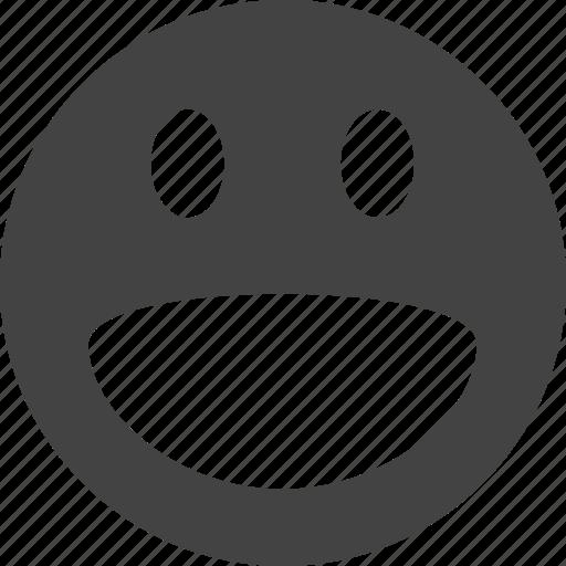 crazy, emoticon, funny, happy, laugh, sad, shocking, smile icon