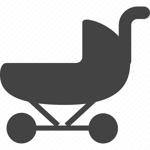 baby, health care, stroller icon