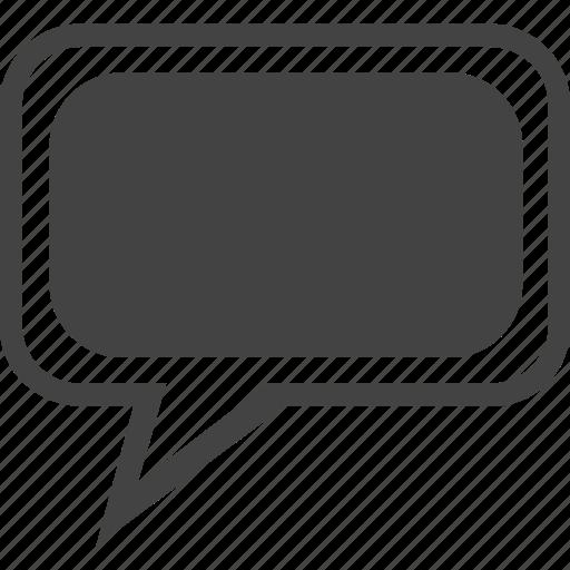 bubble, cellphone, chat, message, mobile, talk, text, voice icon