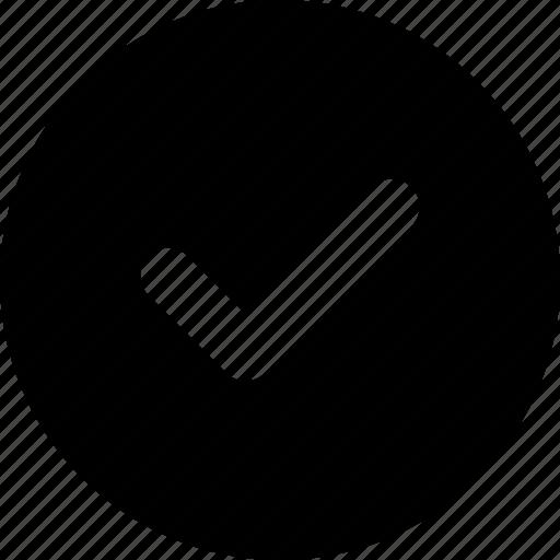 checklist, checkmark, done, ui, verified, web icon
