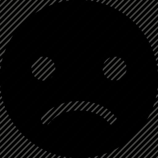 app, disagree, expression, face, sad, ui icon
