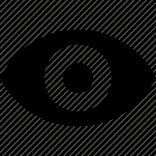 app, eye, seen, ui, unhidden, visible, vision icon