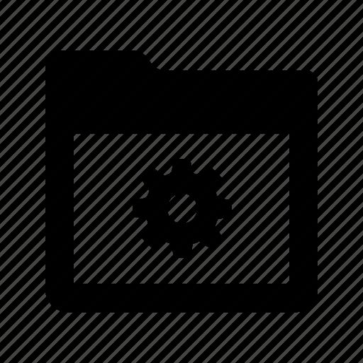 file, folder, options, preferences, settings icon