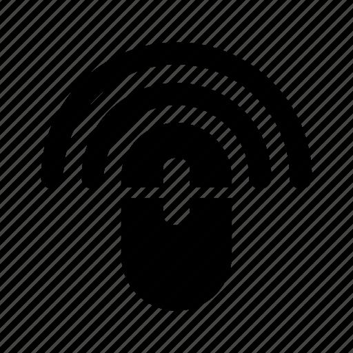 fi, mouse, signal, wi, wifi, wireless icon